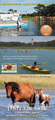 Assateague Explorer Cruises & Kayaking