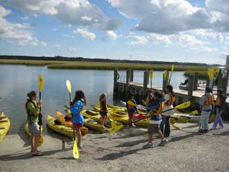 Kayak Tours for Schools, Scouts & Clubs