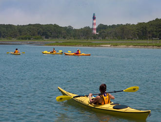 Kayak Tours along Assateague